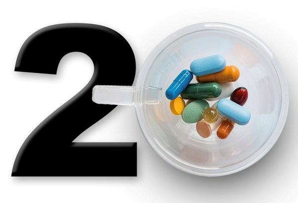 20 years with supplements representing ingredients