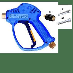 Dotazione di base Pistola servoassistita - innesto rapido a sfera - giunto girevole