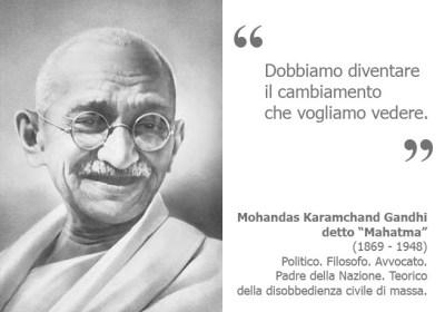 Mahatma Gandhi - Biosicurezza