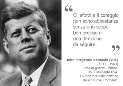 J.F. Kennedy - Biosicurezza