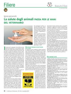 La salute degli animali passa per le mani