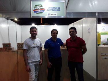 Presença do IBS na Exposantana, no município de Santana/BA.