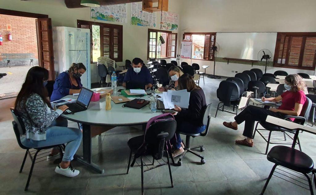 A sessão pública foi realizada no dias 29 e 30 de setembro no PESM - Núcleo Itariru