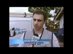 Expedição Via Láctea no Programa Leite EPTV/Globo