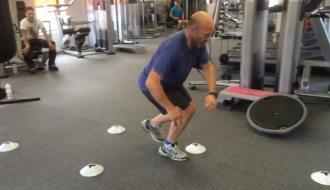 Dynamic exercises for knee rehabilitation