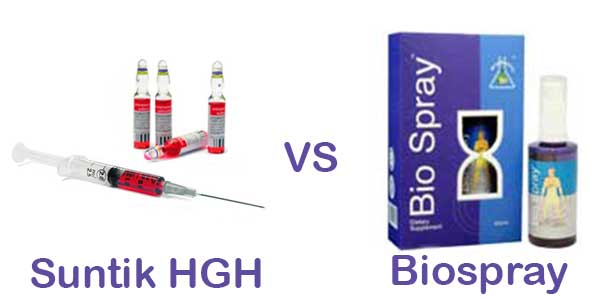 HGH vs Biospray