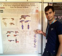 Alejandro Serrano en el 6th International Meeting on Cranio-cervical Systems in Vertebrates