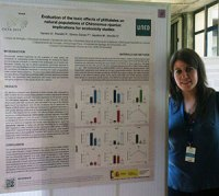 Mónica Aquilino en el 10th Iberian and 7th Iberoamerican Congress on Environmental Contamination and Toxicology