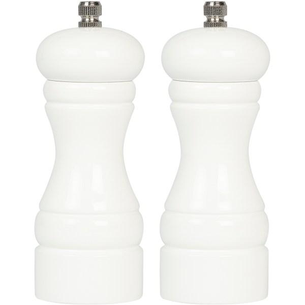 Karabiber Değirmeni Beyaz ikili 13 cm BRD 232 2