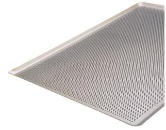 plaque perforee en aluminium bord 45