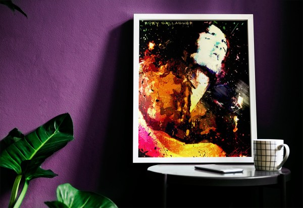 Rory Gallagher Poster 2