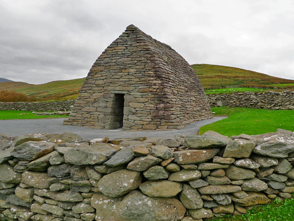 Gallarus Oratory on Dingle Peninsula, ireland