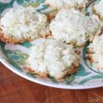 Key Lime Coconut Macaroons