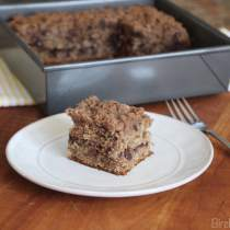 Banana Chocolate Chip Crumb Cake