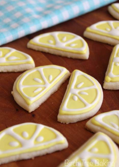 Lemon Almond Sugar Cookies
