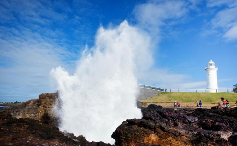 Kiama Blowhole, kaynak:visitnsw.com