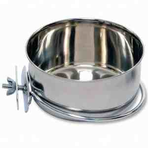 Coop Cup Stainless Steel Bolt On Dish 20 oz