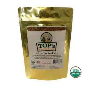 TOPS Bird Seed All in One Soak or Dry Seed Mix 5 lb (2.27 kg)