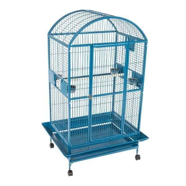 Dome Top Bird Cage for Large Parrots by AE 9003628 Green
