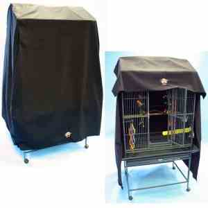 Cozzzy 32 Inch x 24 Inch Parrot Cage Cover for Play Top Cages – 3224PT – Black