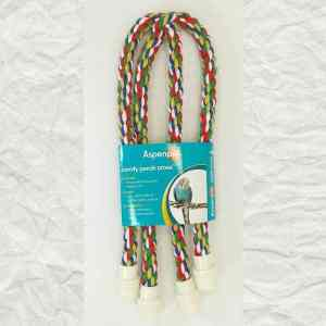 Comfy Rope Cross Perch Small 5/8 Inch (1.6 cm) By Booda
