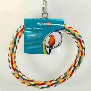 Comfy Rope Swing N Perch by Booda Medium 10″