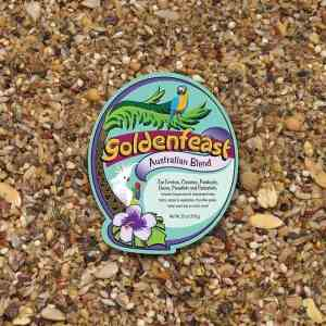 Goldenfeast Australian Blend Small Pet Bird Food 25 oz (708 G)