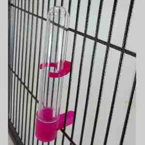 Gravity Plastic Tube Waterer Feeder For Small Birds By Hagen Hari