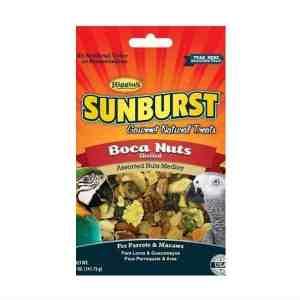 Higgins Sunburst Boca Nuts Shelled Nuts & Fruit Parrot Treats 5 oz (141.75 g)