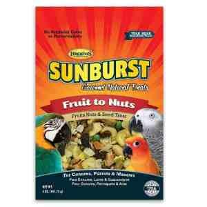 Higgins Sunburst Fruit To Nuts Treat For Birds Large 5 oz (141.75 g)