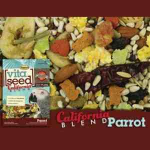 Higgins Vita California Blend Parrot No Sunflower 25 lb (11.34 Kg)