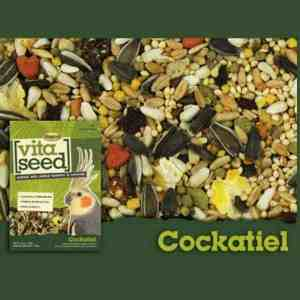 Higgins Vita Cockatiel Specific With Probiotics 25 lb (11.34 Kg)