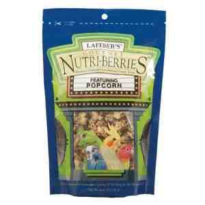 Lafebers Gourmet Popcorn Nutri-berries Cockatiel 4 oz (113.5 G)