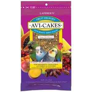 Lafebers Fruit Delight Avi-cakes Small Bird 8 oz (227 g)