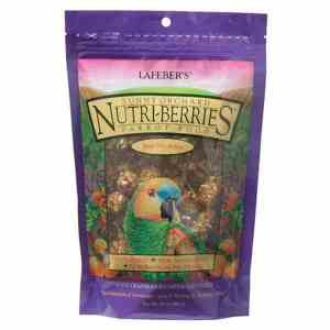 Lafebers Gourmet Sunny Orchard Nutri-berries For Parrots 20 lb (9.09 Kg)