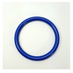 Marbella Style Ring for Bird Toys Crafts 5″ Blue 1 pc