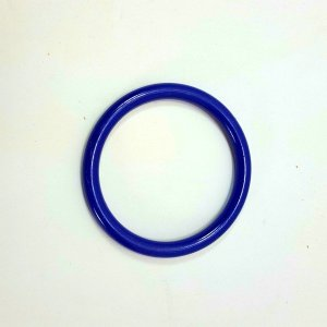 Marbella Style Ring for Bird Toys Crafts 4″ Blue 1 pc