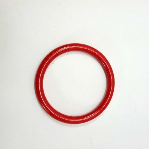Marbella Style Ring for Bird Toys Crafts 4″ Red 1 pc
