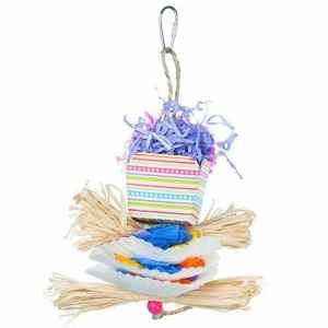Prevue Calypso Creations Bird Toy for Small Parrots – Dessert Delights