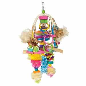 Bodacious Bird Toy for Medium to Large Parrots – Explosion