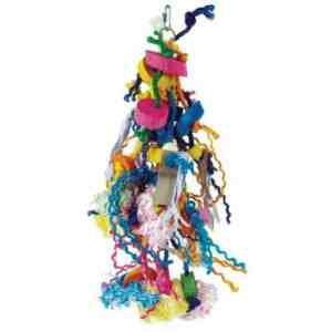Bodacious Bird Toy for Medium to Large Parrots – Voracious