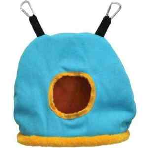 Warm Snuggle Sack for Birds by Prevue Large Blue