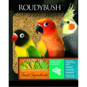 Roudybush pet bird food pellets