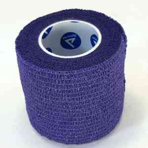 First Aid Self Adhering Tape Vet Wrap No Clips No Adhesive Purple
