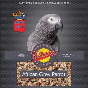 Volkman Avian Science Super African Grey Parrot Seed 20 lb (9.07 Kg)
