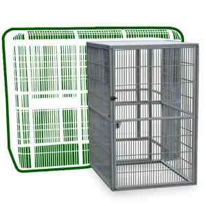 Walk In Indoor Aviary Side Door ONLY by AE for WI8662 Black