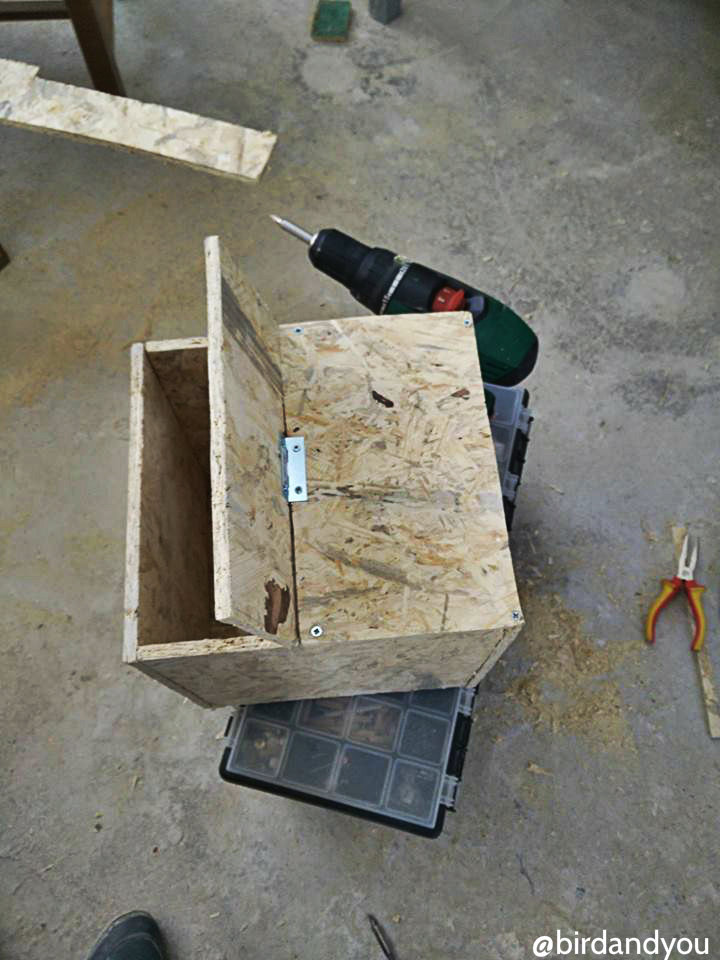 fabrication nid perruche 12 - How to make a nest for parakeets in 5 steps