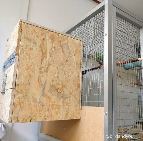 Fabriquer nid pyrrhura 2 2020 - How to make a nest for parakeets in 5 steps