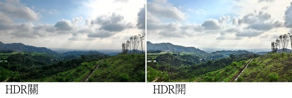 實拍-HDR