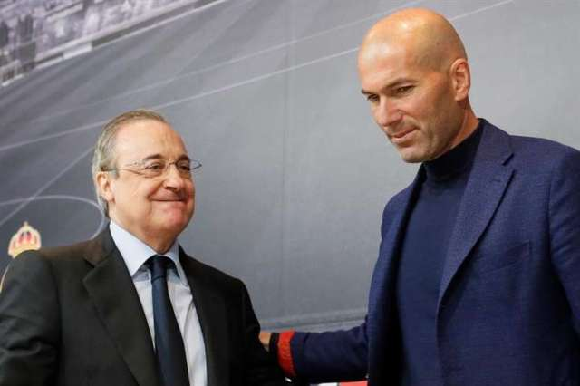 Zinedine Zidane and Florentino Perez have a rebuilding job to do at Real Madrid